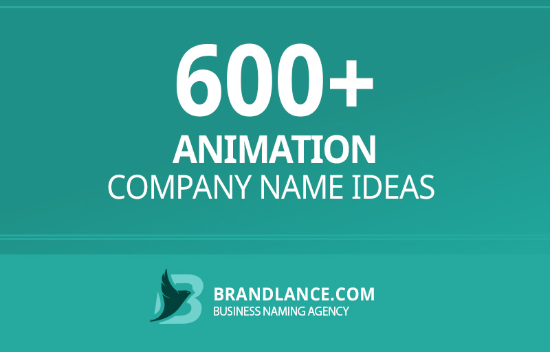 Animation company name ideas for your new business venture