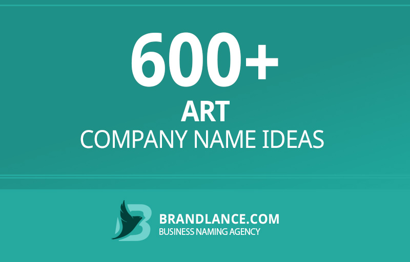 Art company name ideas for your new business venture