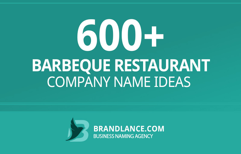 Barbeque restaurant company name ideas for your new business venture