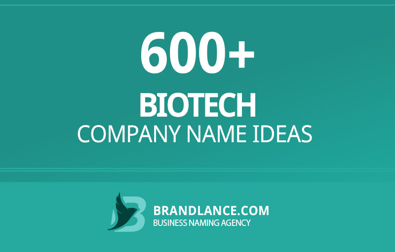 Biotech company name ideas for your new business venture