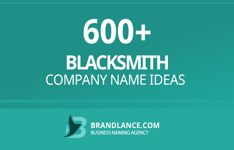 Blacksmith company name ideas for your new business venture