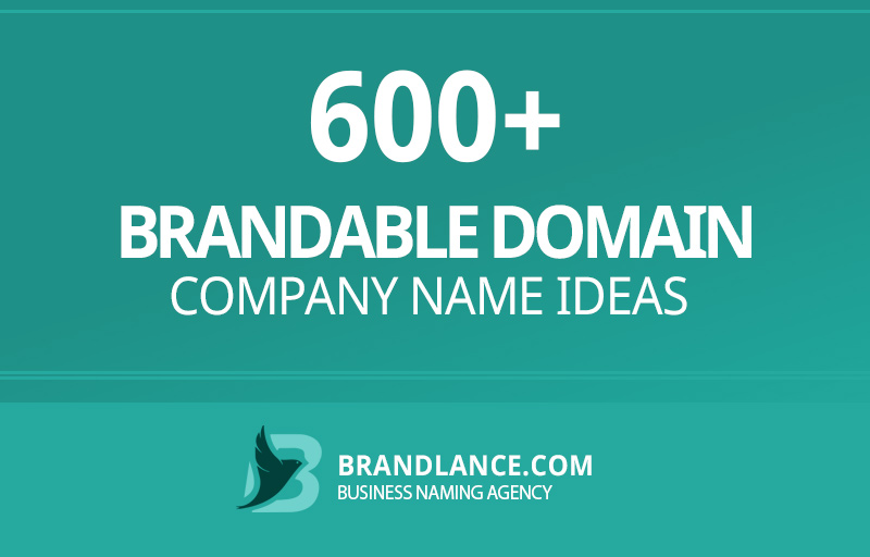 Brandable domain company name ideas for your new business venture