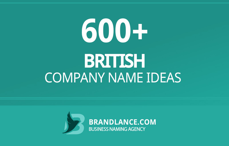 British company name ideas for your new business venture