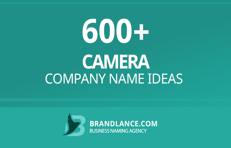 Camera company name ideas for your new business venture