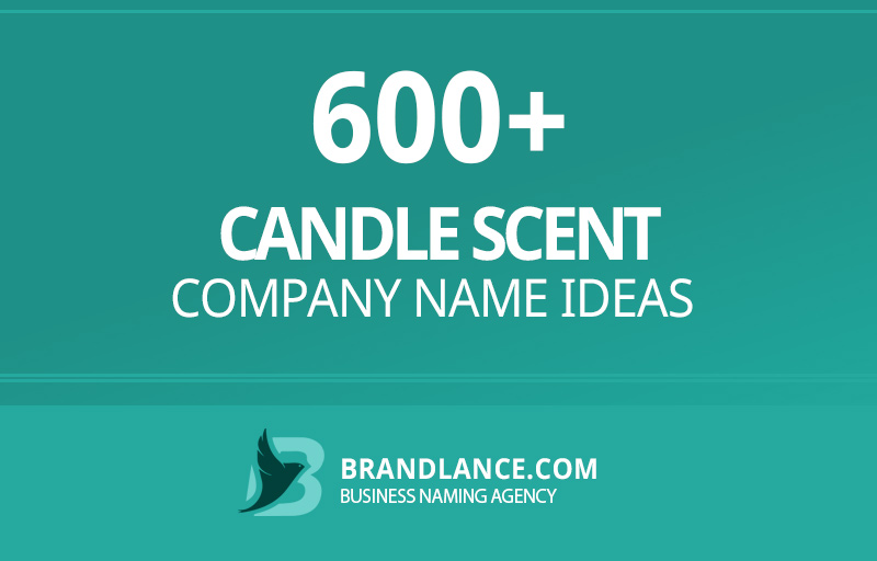 Candle scent company name ideas for your new business venture