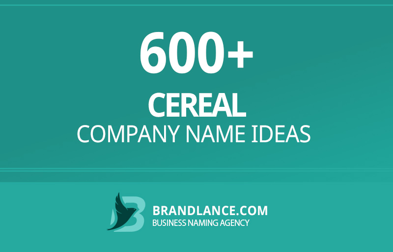 Cereal company name ideas for your new business venture