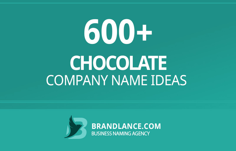 Chocolate company name ideas for your new business venture