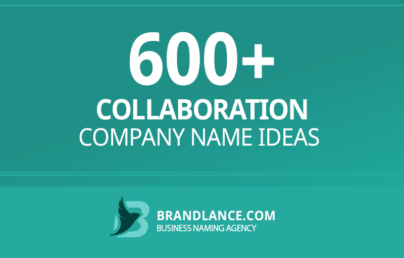Collaboration company name ideas for your new business venture