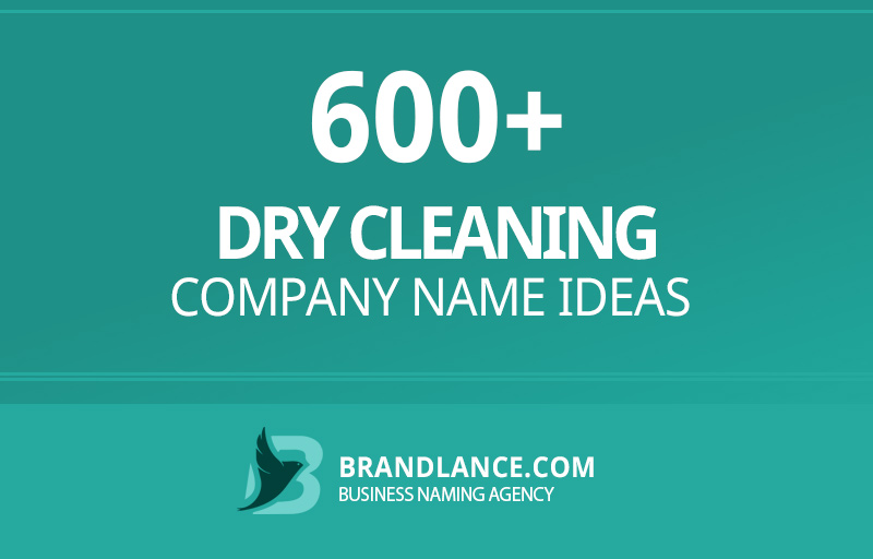 Dry cleaning company name ideas for your new business venture