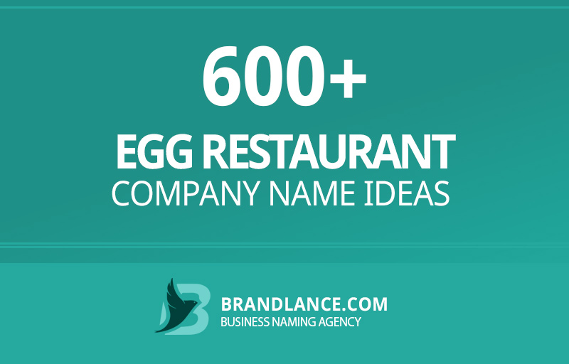Egg restaurant company name ideas for your new business venture