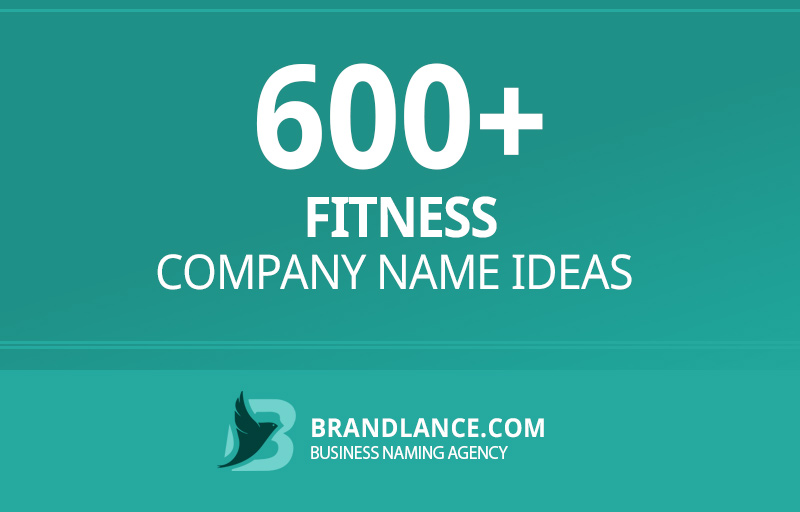 Fitness company name ideas for your new business venture