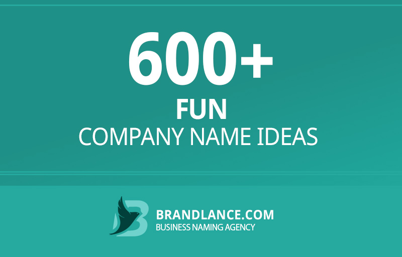 Fun company name ideas for your new business venture