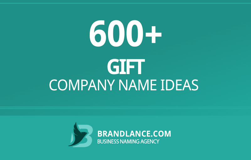 Gift company name ideas for your new business venture