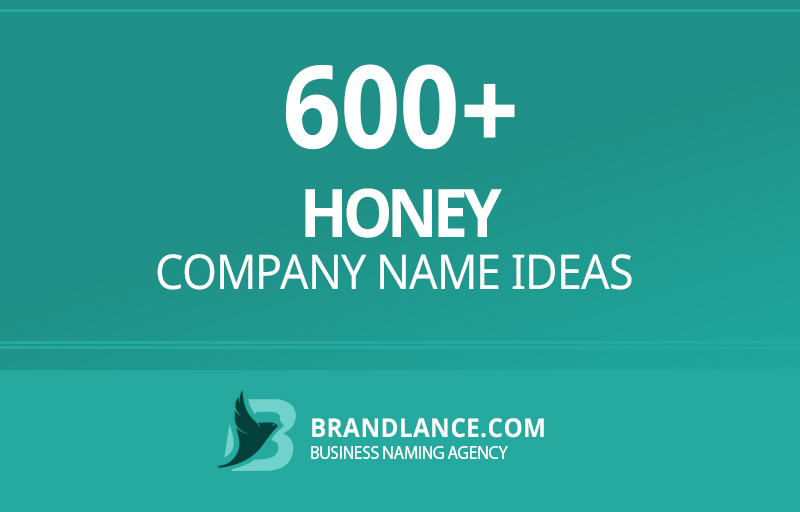 Honey company name ideas for your new business venture