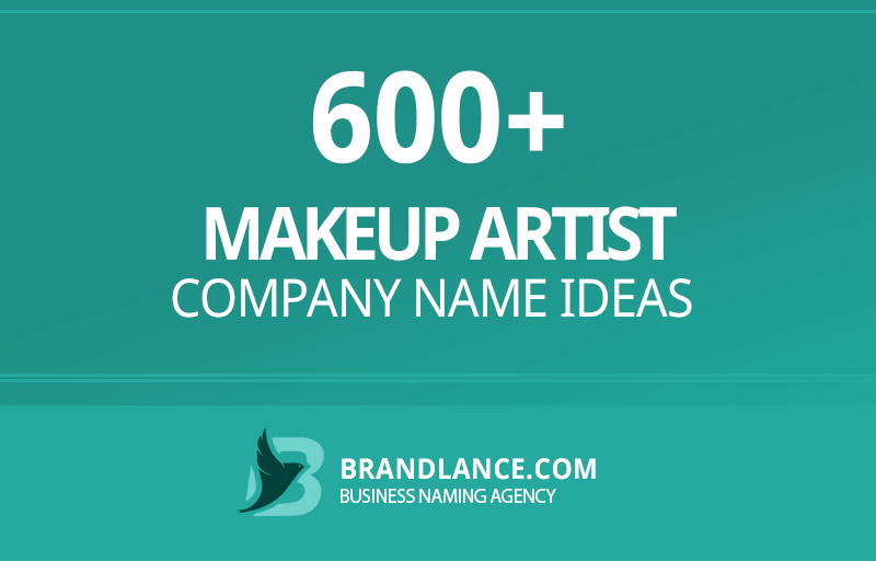 Makeup artist company name ideas for your new business venture