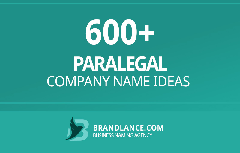 Paralegal company name ideas for your new business venture