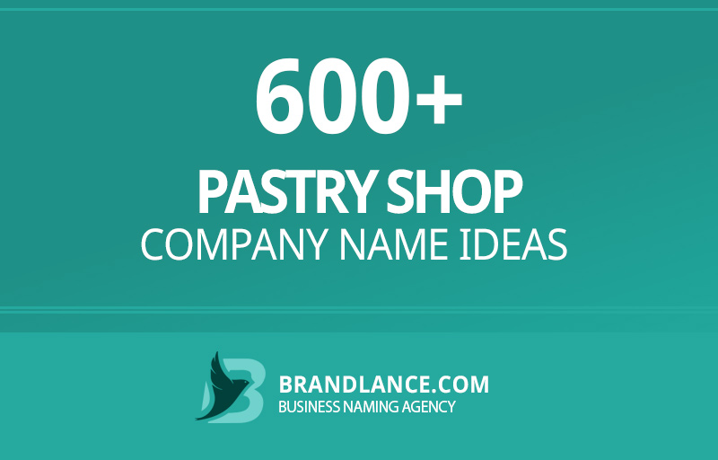 Pastry shop company name ideas for your new business venture