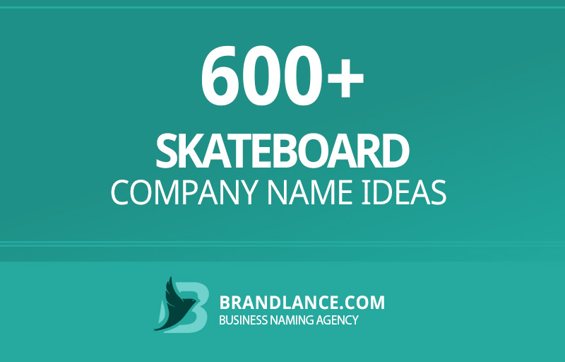 Skateboard company name ideas for your new business venture