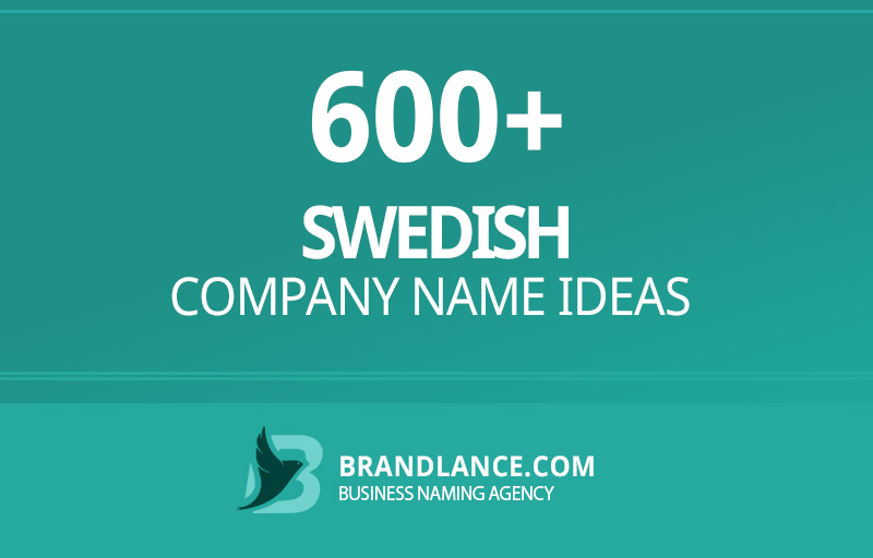 Swedish company name ideas for your new business venture