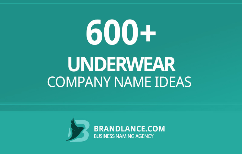 Underwear company name ideas for your new business venture