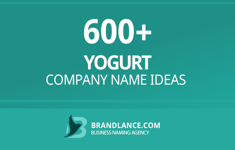 Yogurt company name ideas for your new business venture